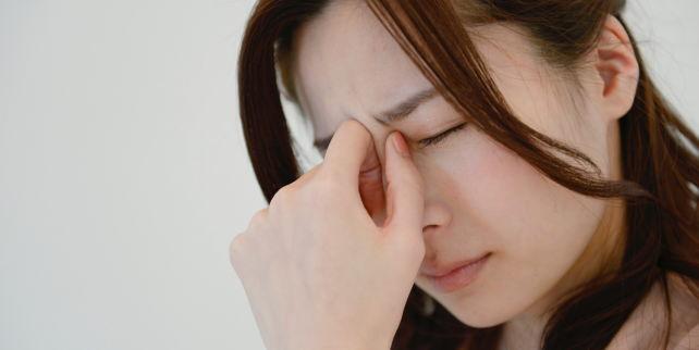 肉割れの痛みに悩む女性